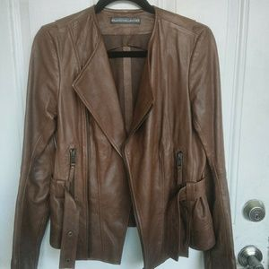 Balenciaga Moto Leather Jacket